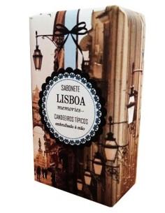 Sabonete Lisboa Memories - Fado Candeeiros Típicos 150g