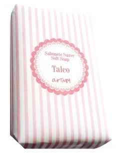 Sabonete Suave Talco 4Kids - Riscas Rosa 70g