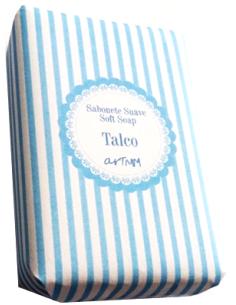 Sabonete Suave Talco 4Kids - Riscas Azul 70g
