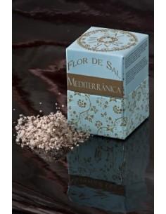 Flor de sal Mediterrânica (azeitona e chili) Em cartão Salmarim 150 gr | Salmarim