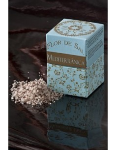 Flor de sal mediterrânica(azeitona e chili) Em cartão Salmarim 150 gr