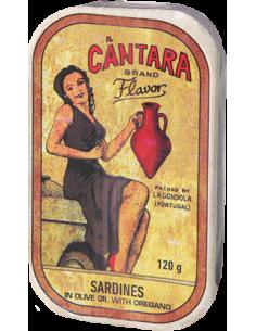 Cântara Sardinhas Em Azeite & Oregãos | La Gondola