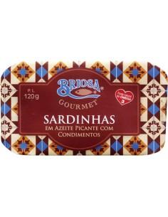 Briosa Sardinhas em Azeite com Condimentos | Briosa