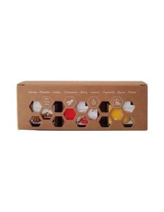 Minipack Sensações (Citrus Christmas Fire) Beesweet 3x40g