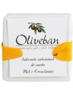 Sabonete Artesanal de Azeite - Mel e Limão 105g Oliveban BELEZA