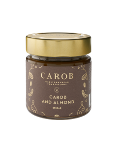 Carob and Almond Spread 240g