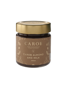 Carob Almond and Milk Spread 240g | Carob World