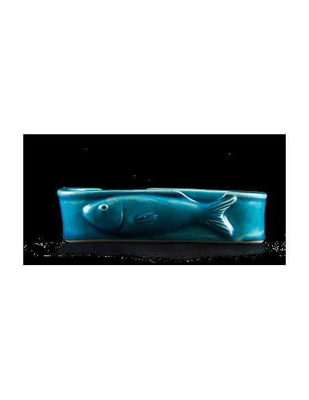 Peça Cerâmica Conserva Azul Turquesa Canned With Soul