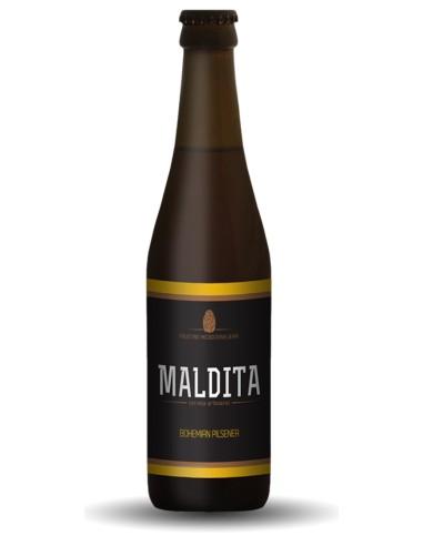 MALDITA Bohemian Pilsener 33 CL |