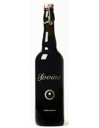 SOVINA Stout 75cl   Sovina Cerveja Artezanal