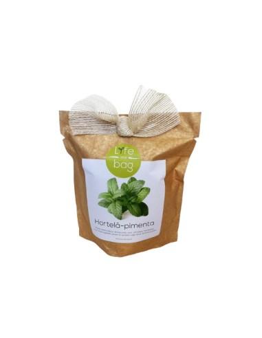 Grow Bag (Saksa,coentros,mangericão,morangos...) bolsa Life in a bag 300 gr