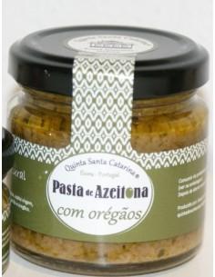 Pasta de Azeitona com Oregãos 100g Quinta Santa Catarina