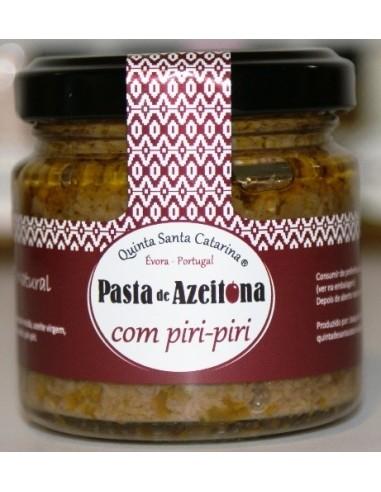 Pasta de Azeitona com Piri-Piri 100g Quinta Santa Catarina | Quinta Santa Catarina