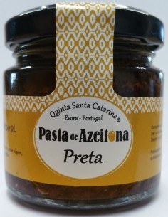 Pasta de Azeitona 100% Galega 100g Quinta Santa Catarina
