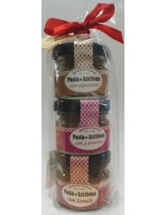Pack 3mini Sabores Pasta de Azeitona Quinta Santa Catarina