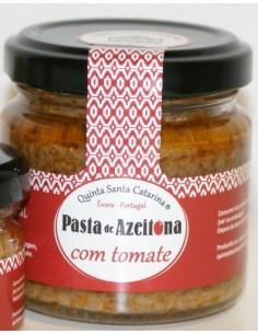 Pasta de Azeitona com Tomate 100g Quinta Santa Catarina | Quinta Santa Catarina